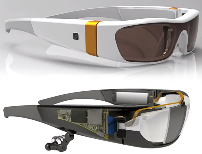 Head mounted displays will only get lighter, smaller and better quickly